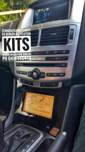 Fg mk1 Grey Screen Relocation Kit Stingray Car Security
