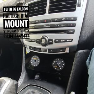 Fg To Fgx Falcon Mount By Stingray For Haltech Dials